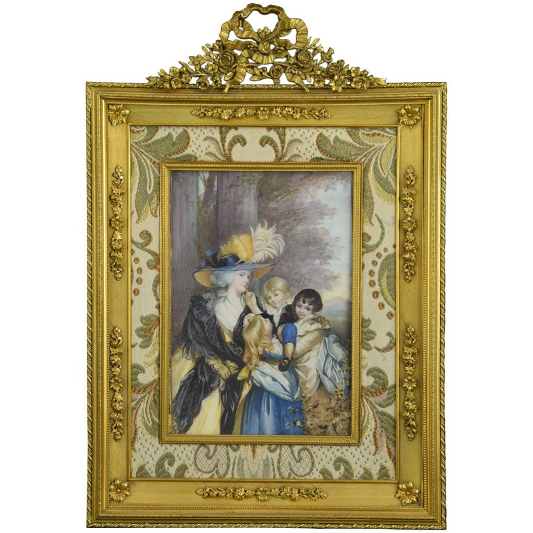 Miniature on Ivory after Sir Joshua Reynolds, Possibly, 19th Century