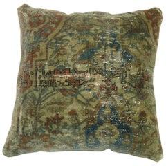 Mohtasham Medallion Persian Rug Pillow