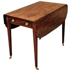 Hepplewhite Pembroke Table, New England, circa 1795