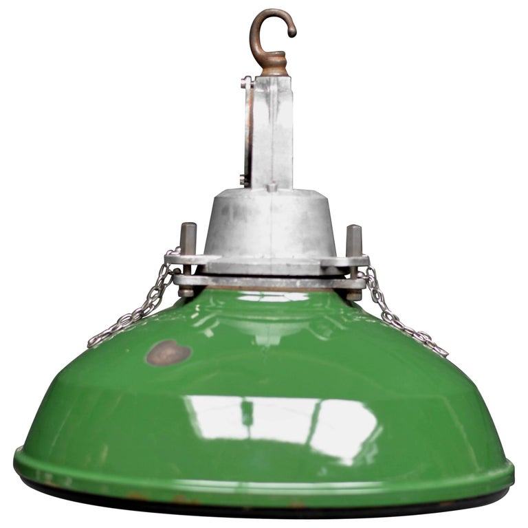 1950s Green Benjamin with Explosion Proof Glass