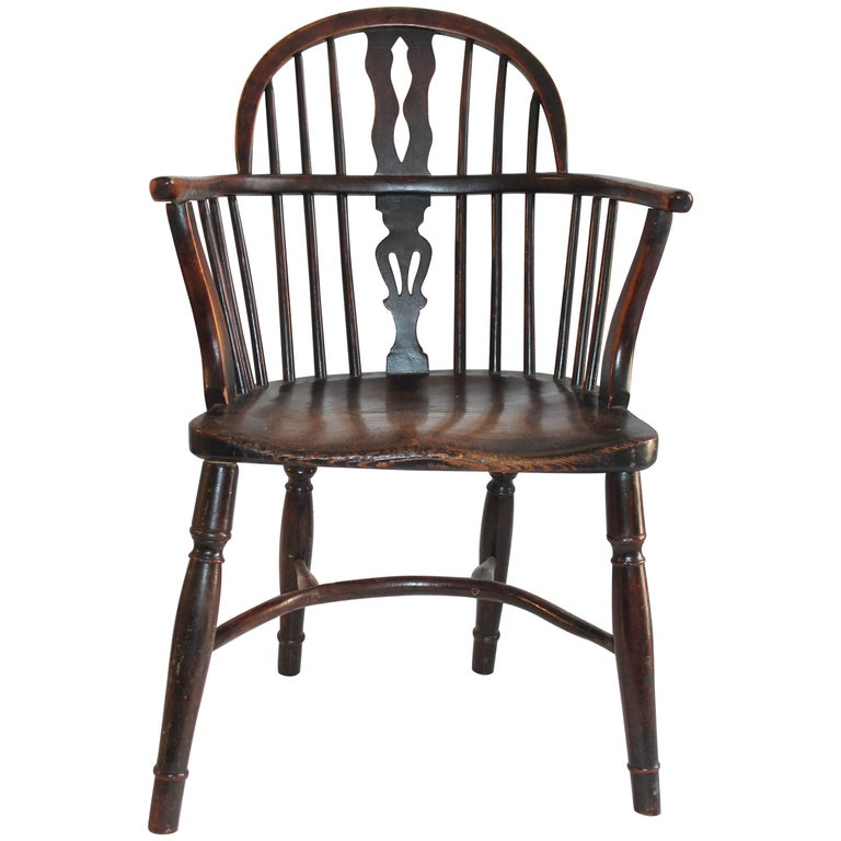 19th Century English Windsor Chair