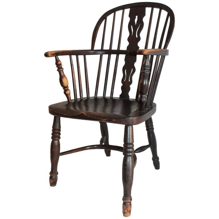 19th Century Barrel Back Windsor Chair