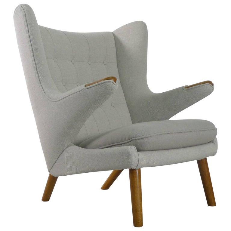 Hans Wegner Papa Bear Chair for AP Stolen, Denmark, 1950s For Sale