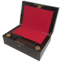 19th Century Writing Box  Signed Alphonse Giroux et Cie