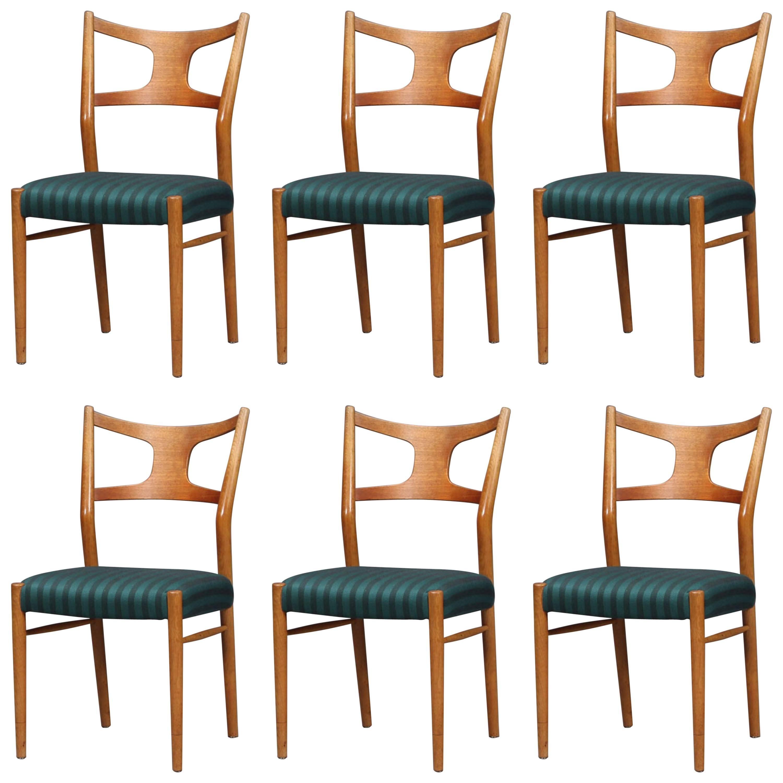Rare Dining Chairs by Kurt Østervig