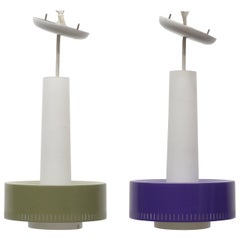 Pair of Swedish Pendant Lights