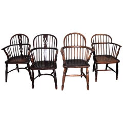 Windsor Chairs, Early 19th Century English Assembled Collection / 4