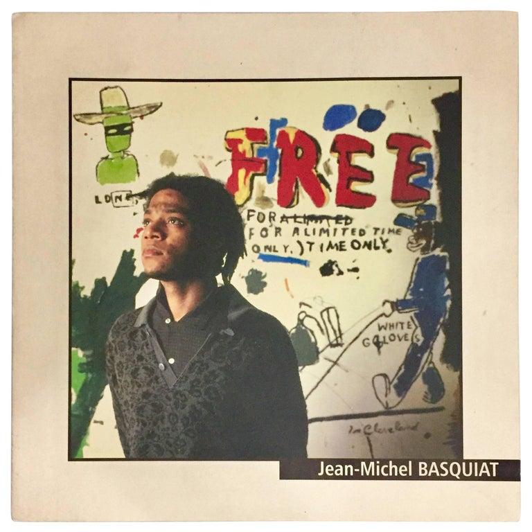 Basquiat at L'espal, Vintage Exhibition Catalog, 1999 'Le Mans, France'