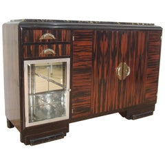 French Art Deco Sideboard Cocktail Dry Bar