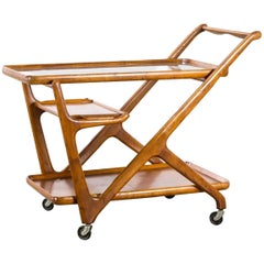 1950s Cesare Lacca Tea Trolley for Cassina
