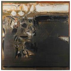 """""""The Earth"""" Acrylic by S.H. Raza"""