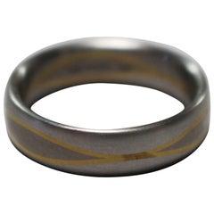 Christian Bauer Designer Platinum and 18-Carat Gold Ring