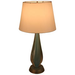 1970s Murano Glass Table Lamp