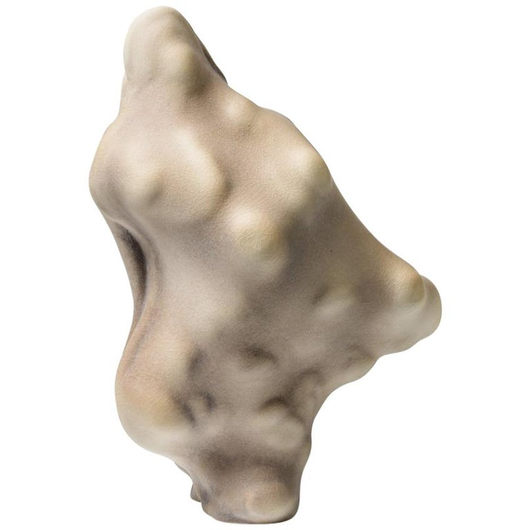 Unique Porcelain Sculpture by Wayne Fischer, 2017  For Sale
