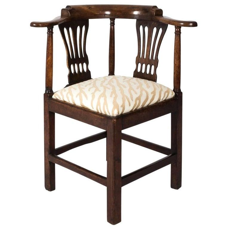 George III Corner Chair
