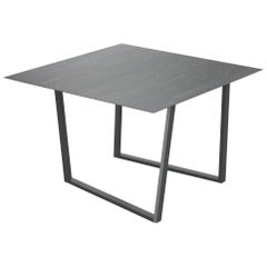 Salvatori Square Dritto Dining Table Lithoverde® Pietra d'Avola by Piero Lissoni