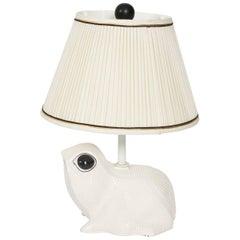 Ceramic Frog Lamp, circa 1970