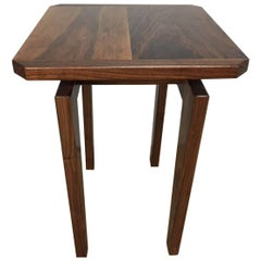 High Pedestal Side Table