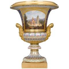 Royal KPM Porcelain Krater Vase