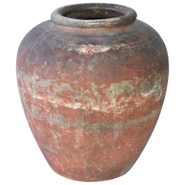 Terracotta Pottery Jar For Sale