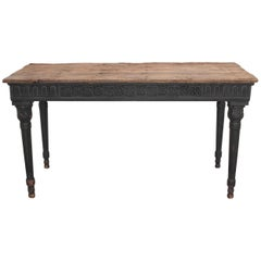 19th Century Painted Spanish Console