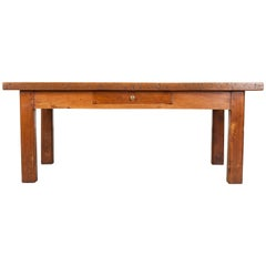 French 19th Century Chestnut Coffee Table