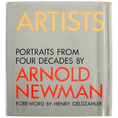 """""""Artists, Portraits from Four Decades"""" First Edition Book by Arnold Newman"""