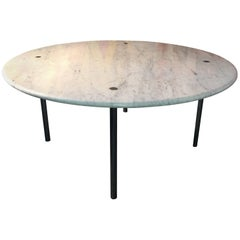 Estelle & Erwin Laverne Marble Dining Table, USA, 1950s