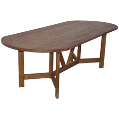 Farm Table in Vintage Fir, Custom Made by Petersen Antiques