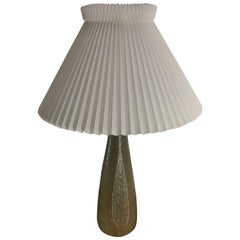 1960s Gerd Bogelund Celadon Glazed Stoneware Lamp by Royal Copenhagen