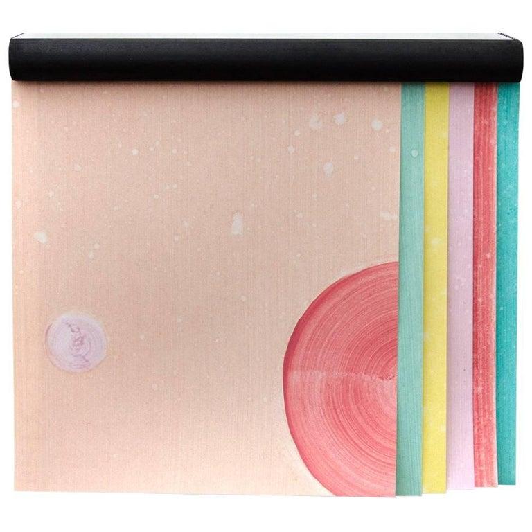 SARKOS TA METEORA Sample Pack Atmospheric Contemporary Hand-Painted Wallpaper