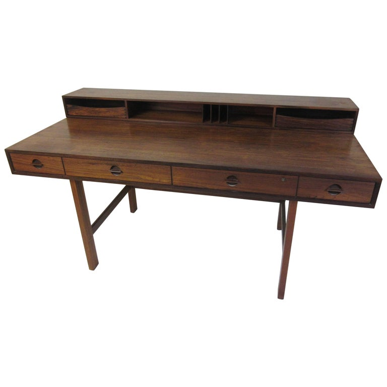 Jens Quistgaard for Lovig in Rosewood Flip Desk For Sale