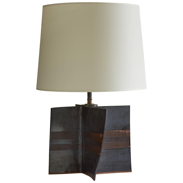 Ceramic Sculptural Table Lamp by Dumais Made
