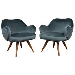 Vladimir Kagan Lounge Chairs