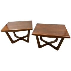 Pair of Adrian Pearsall Style End Tables