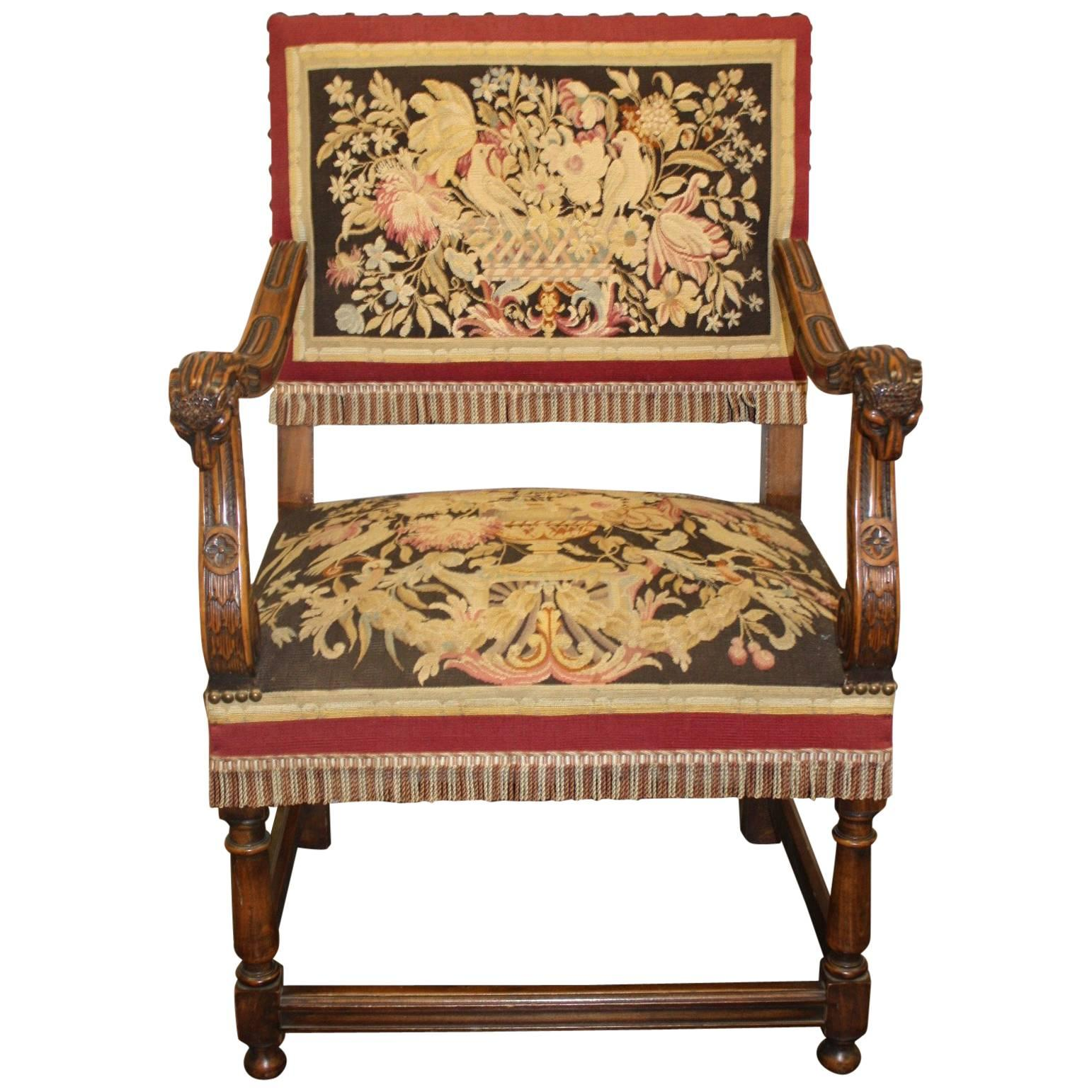 Magnificent 19th Century French Armchair