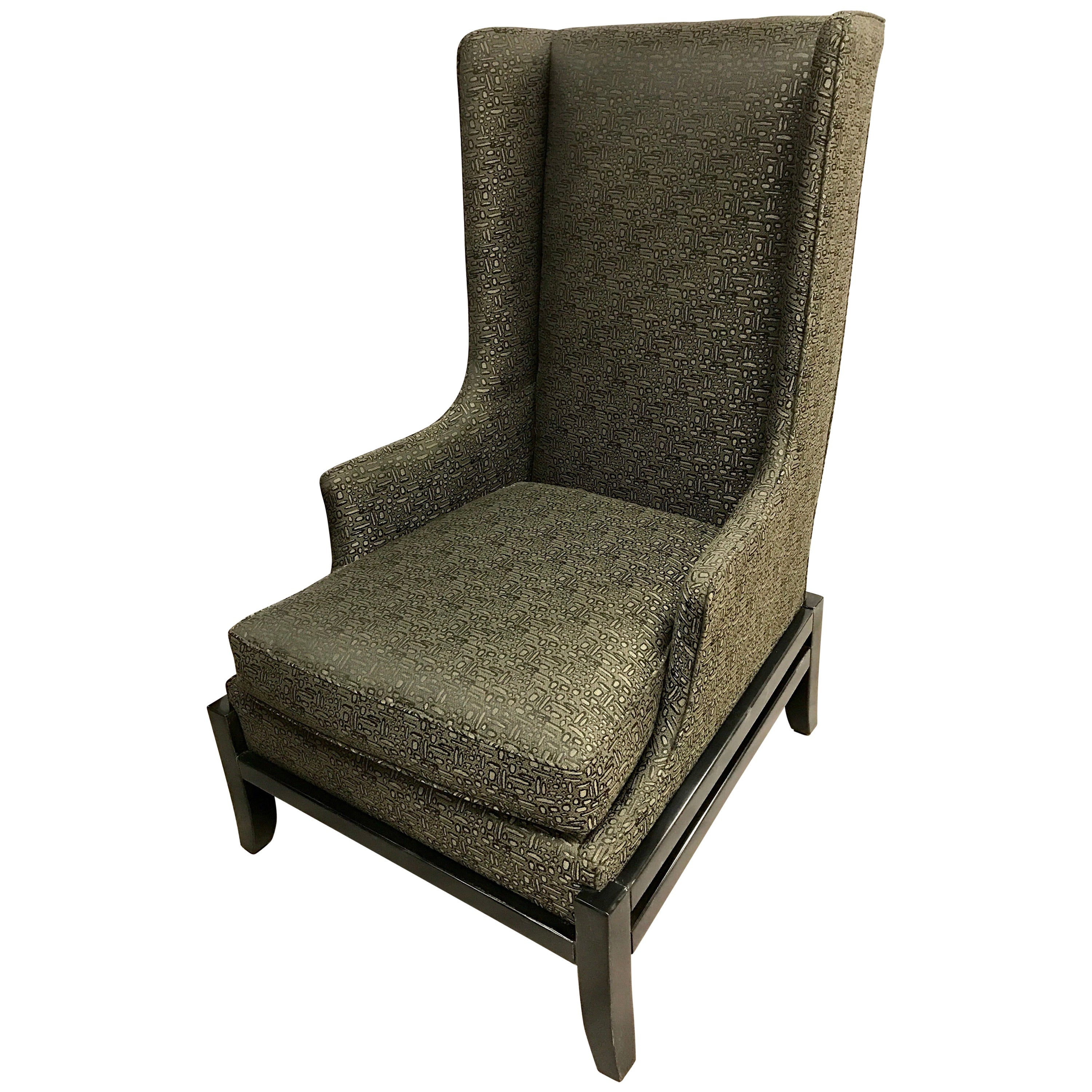 Baker Furniture Large Wingback Chair