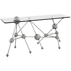 Contemporary Molecular Atomic Design Sideboard, Gio Ponti Style