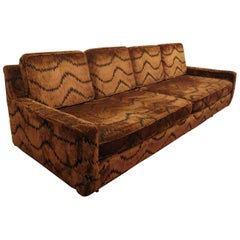 Midcentury Sofa with Jack Larson Fabric