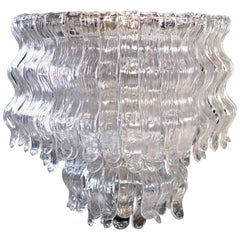Spectacular Chandelier by Barovier & Toso, Murano, 1970s