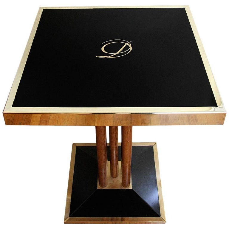 Bistro Table from Drouant Restaurant Paris For Sale