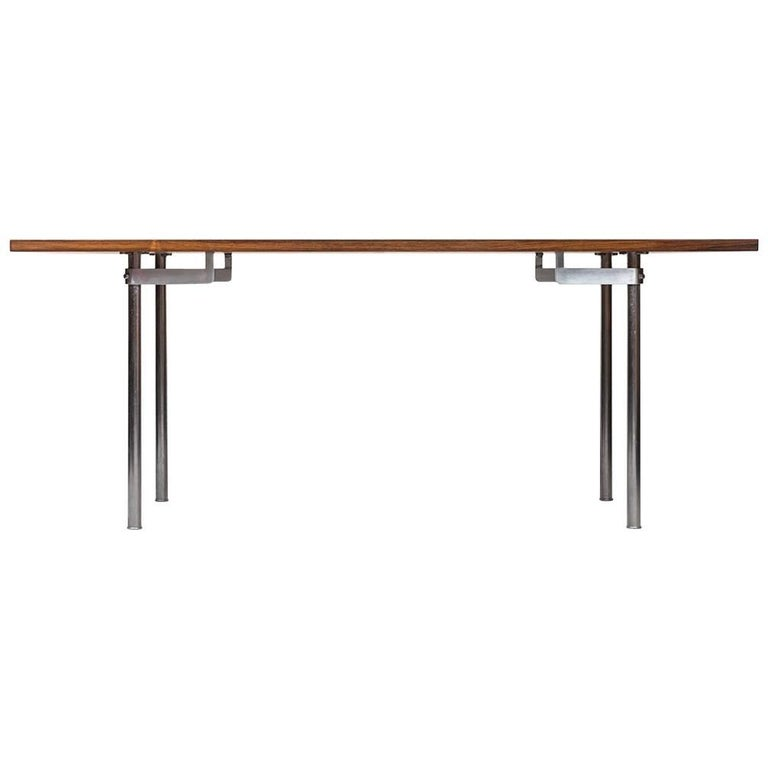 Hans Wegner Dining Table Model AT-318 by Andreas Tuck in Denmark