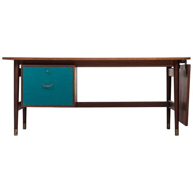 Desk in Style of Finn Juhl and Produced in Denmark