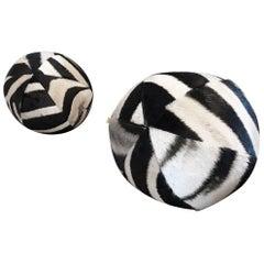 Forsyth Zebra Ball Pillow