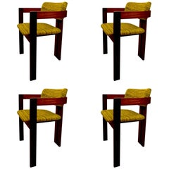 Set of Four Dining Chairs Mod Style by Interior Form Furniture Limited