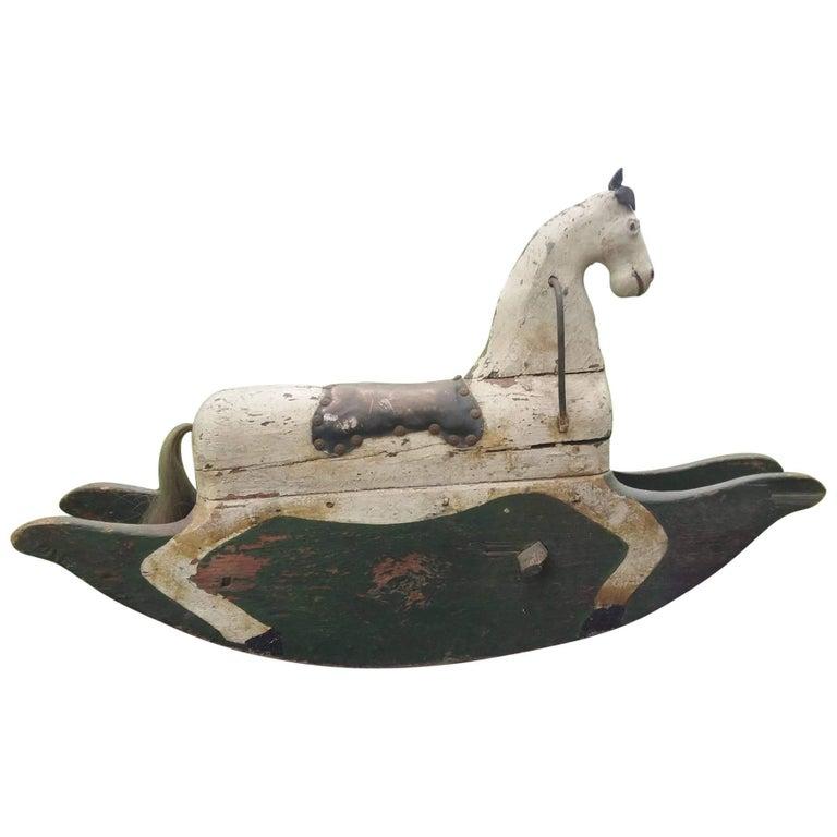 18th/19th Century Swedish Rocking Horse
