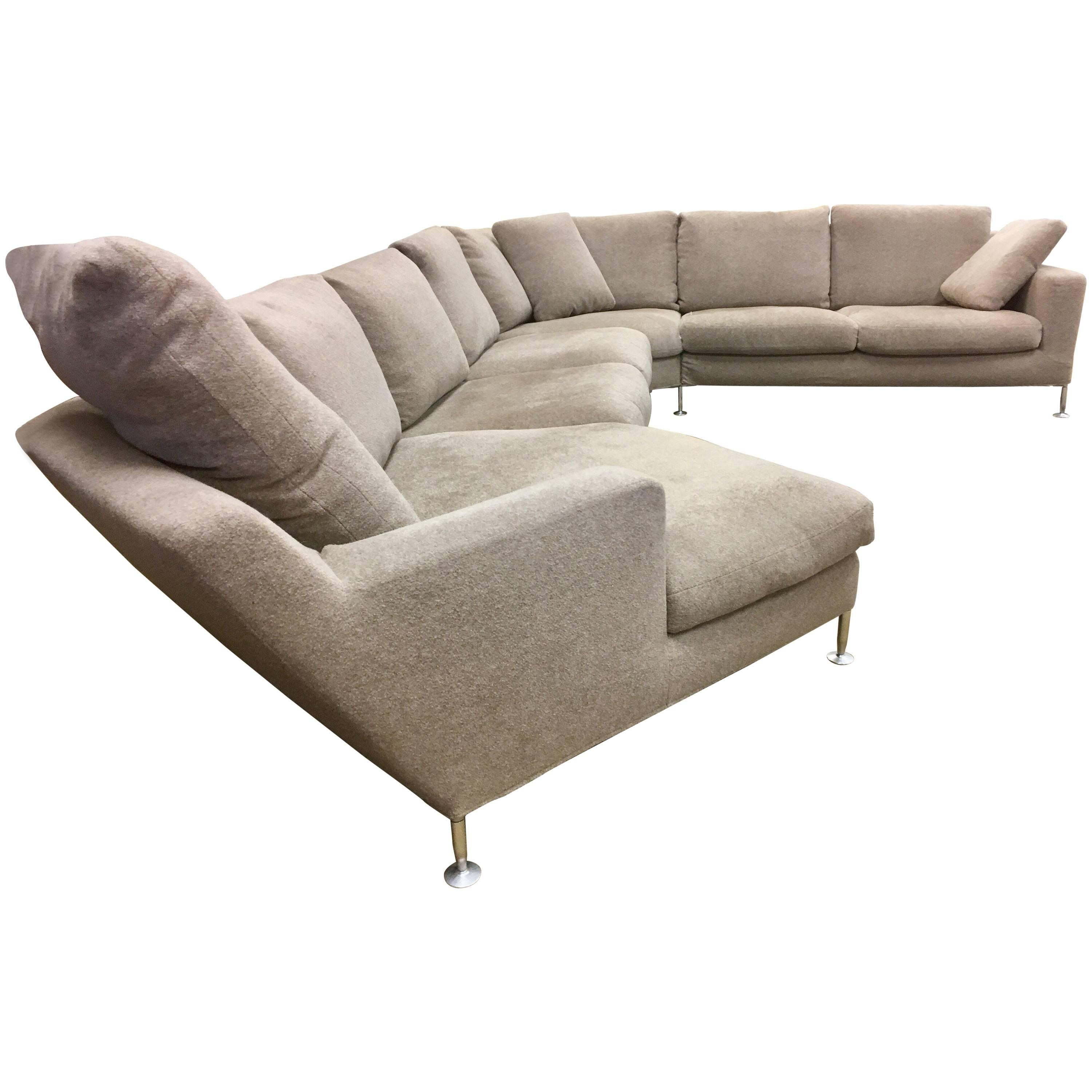 Bu0026amp;B Italia Extra Large Harry Sectional Sofa By Antonio Citterio Made In  Italy