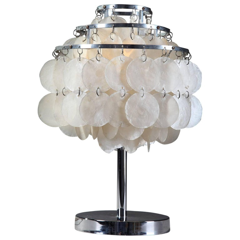 Quite unique v68 verner panton fun shell lamp for sale at for Funny lamps for sale