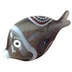 Very Rare Vistosi Murano Murrine Fish