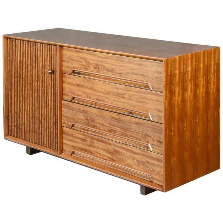 Drexel Perspective Credenza by Milo Baughman For Sale